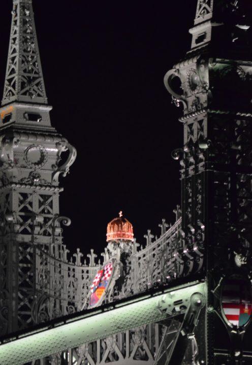 EXPLORING ENCHANTING BUDAPEST AT NIGHT   Liberty Bridge   www.AfterOrangeCounty.com