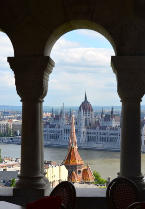 EXPLORING ENCHANTING BUDAPEST   The Danube River   View from Fisherman's Bastion   www.AfterOrangeCounty.com