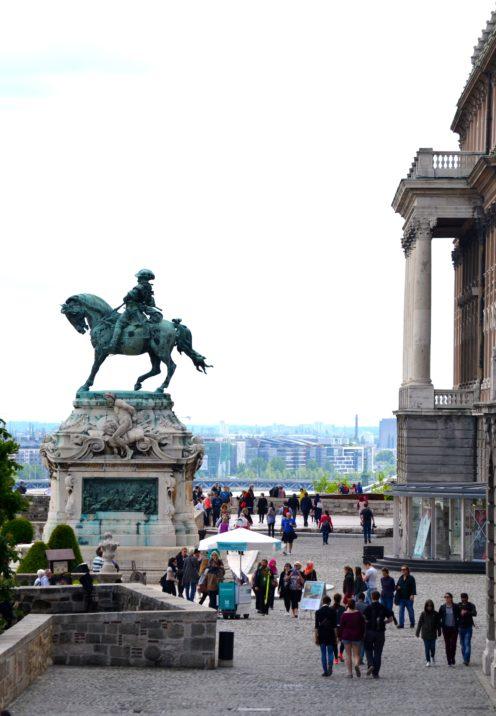 EXPLORING ENCHANTING BUDAPEST   The Royal Palace   www.AfterOrangeCounty.com