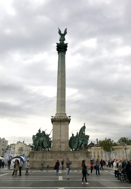 EXPLORING ENCHANTING BUDAPEST   Heroes' Square   www.AfterOrangeCounty.com