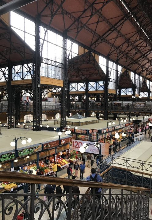 EXPLORING ENCHANTING BUDAPEST | The Great Market Hall | www.AfterOrangeCounty.com