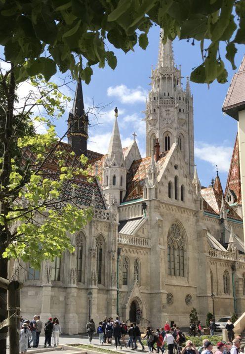 EXPLORING ENCHANTING BUDAPEST   Matthias Church on Castle Hill   www.AfterOrangeCounty.com