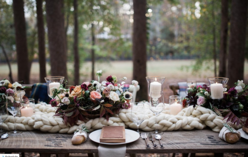 WILDFLOWERS AT THE LAKE | Woodland Wedding By Ellie Alexandra | www.AfterOrangeCounty.com