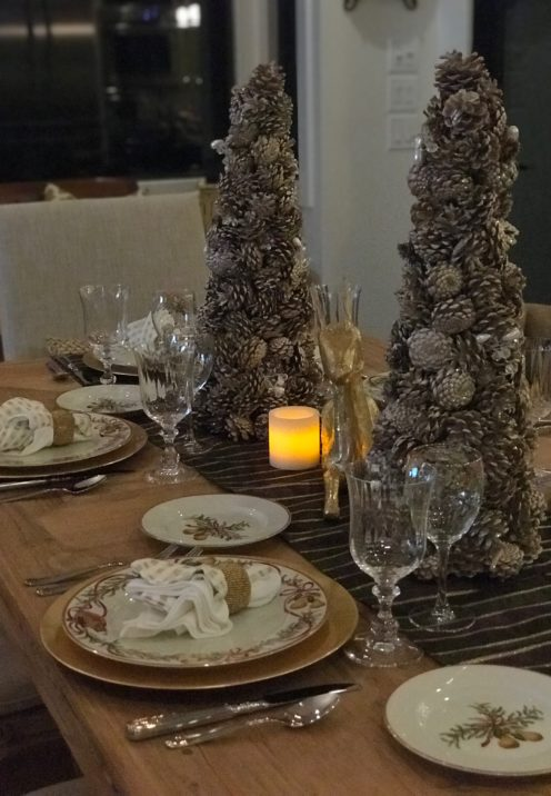 SUNDAYS WITH CELIA VOL 50 | A Modern Farmhouse Christmas Table | www.AfterOrangeCounty.com