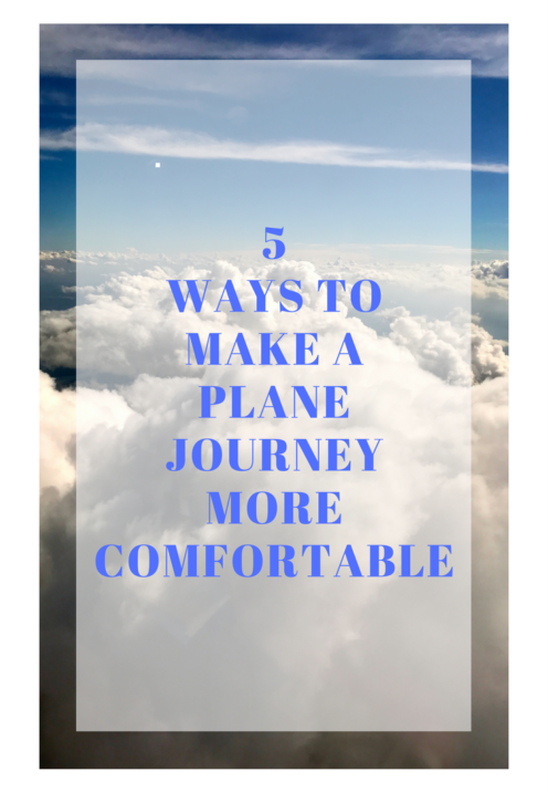 5 WAYS TO MAKE A PLANE JOURNEY MORE COMFORTABLE | www.AfterOrangeCounty.com