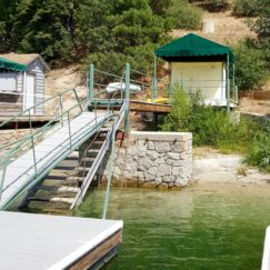 RENOVATING OUR LAKE ARROWHEAD DOCK HOUSE | www.AfterOrangeCounty.com