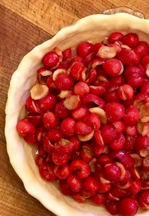THE MOST DIVINE CHERRY PIE RECIPE | www.AfterOrangeCounty.com