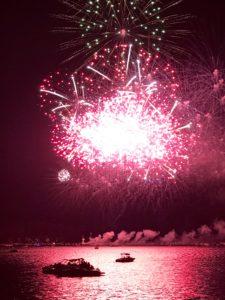 SUNDAYS WITH CELIA VOL 60   Lake Arrowhead Fireworks   www.AfterOrangeCounty.com