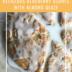 DELICIOUS BLUEBERRY SCONES WITH ALMOND GLAZE | Recipe | www.AfterOrangeCounty.com