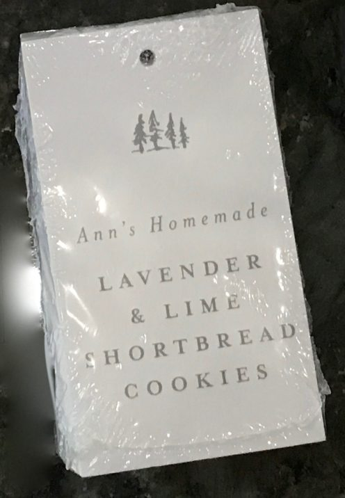 HOW TO MAKE WONDERFUL WEDDING WELCOME BASKETS | Lavender & Lime Shortbread Cookies | www.AfterOrangeCounty.com