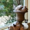 DECORATING FOR FALL WITH DIY CLOTH PUMPKINS