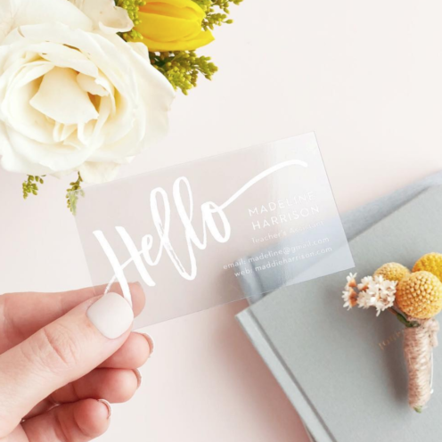 CUSTOMIZABLE CARDS AND INVITES FOR LIFE'S BIG MOMENTS | Basic Invite | Business Cards | www.AfterOrangeCounty.com
