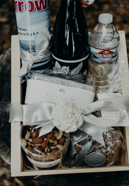 HOW TO MAKE WONDERFUL WEDDING WELCOME BASKETS | www.AfterOrangeCounty.com