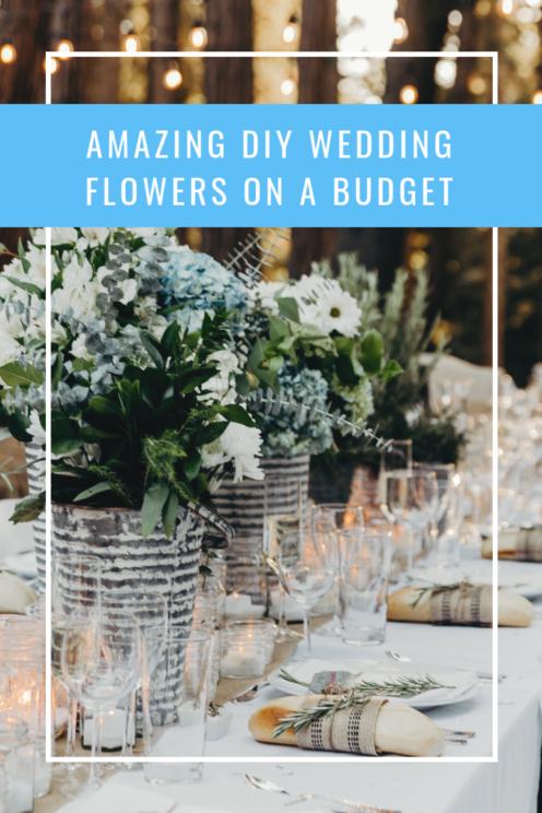 AMAZING DIY WEDDING FLOWERS ON A BUDGET | www.AfterOrangeCounty.com