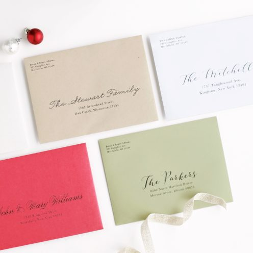 CUSTOMIZABLE CARDS AND INVITES FOR LIFE'S BIG MOMENTS | Basic Invite | Address Service | www.AfterOrangeCounty.com