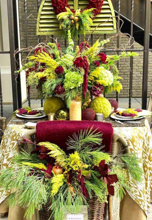 SUNDAYS WITH CELIA VOL 67 | Christmas Tablescape | www.AfterOrangeCounty.com