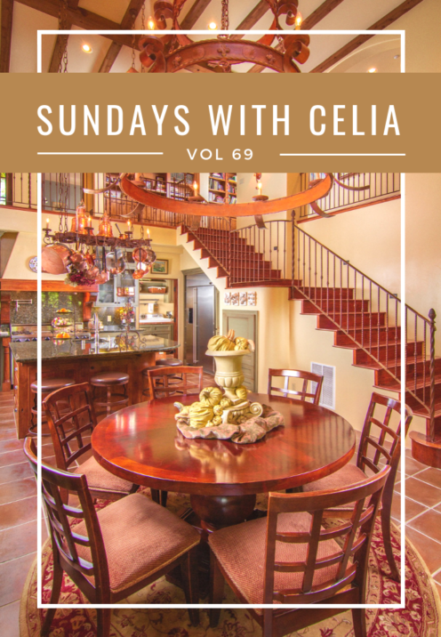 SUNDAYS WITH CELIA VOL 69 | My Lake Arrowhead Home | |www.AfterOrangeCounty.com