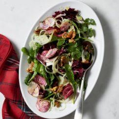 SUNDAYS WITH CELIA VOL 7o | Arugula & Beet Salad with Candied Walnuts from Williams Sonoma | www.AfterOrangeCounty.com