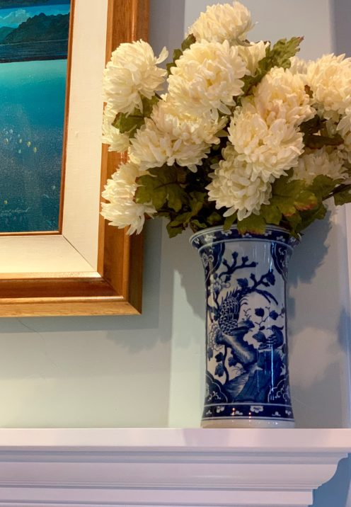 SUNDAYS WITH CELIA VOL 74 | Blue & White Vase from The Enchanted Home | www.AfterOrangeCounty.com