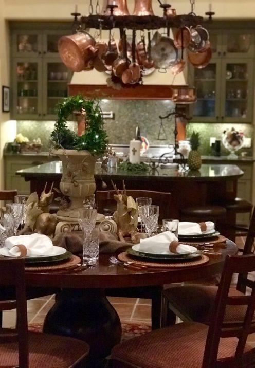 SUNDAYS WITH CELIA VOL 72 | My Christmas Tablescape | www.AfterOrangeCounty.com
