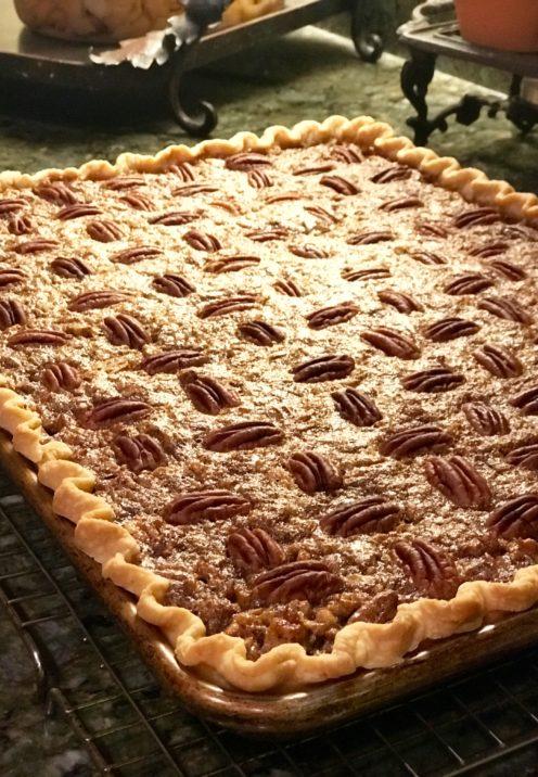 SUNDAYS WITH CELIA VOL 72 | Pecan Slab Pie | www.AfterOrangeCounty.com