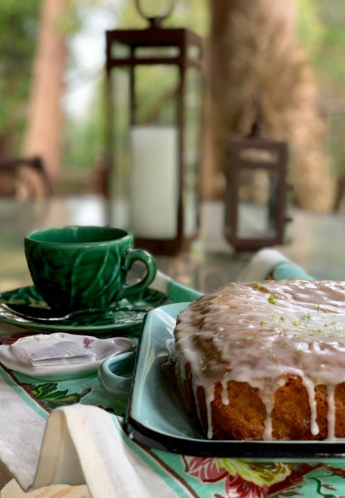 SUNDAYS WITH CELIA VOL 77 | Carrot Ginger Tea Cake with Lime Glaze | www.AfterOrangeCounty.com