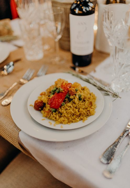 THE ABSOLUTE BEST EVER WEDDING DINNER MENU | Paella | www.AfterOrangeCounty.com