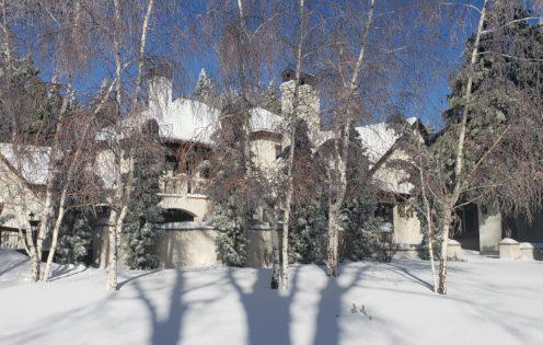 SUNDAYS WITH CELIA VOL 77   My home in snowy Lake Arrowhead   www.AfterOrangeCounty.com