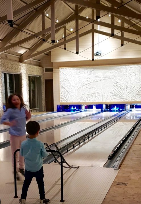 HOW WE SPENT FIVE FABULOUS DAYS IN PALMETTO BLUFF | Moreland Village Bowling Alley | www.AfterOrangeCounty.com