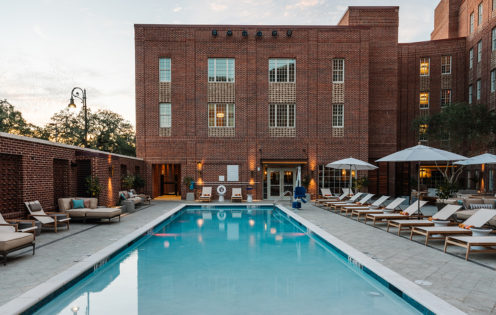 CHECKING INTO THE NEW ALIDA HOTEL IN SAVANNAH | www.AfterOrangeCounty.com