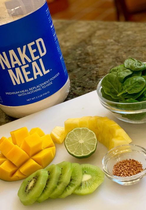 DELICIOUS MEAL REPLACEMENT SMOOTHIE RECIPE | NAKED MEAL | www.AfterOrangeCounty.com