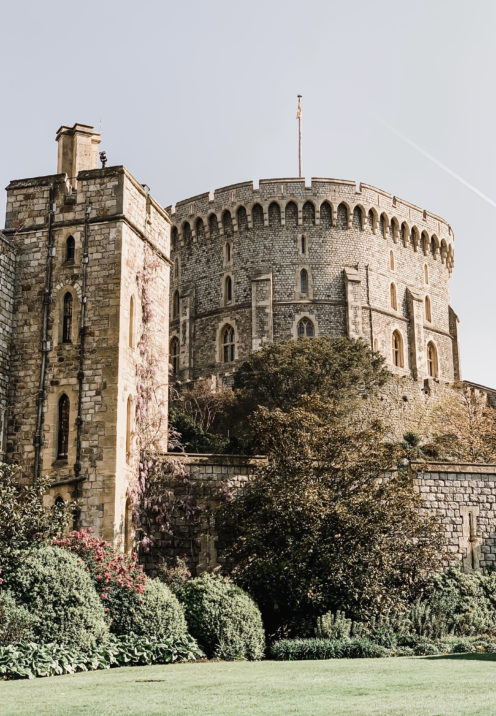 A VISIT TO ENCHANTING WINDSOR CASTLE | The Round Tower | www.AfterOrangeCounty.com