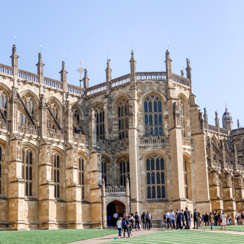 A VISIT TO ENCHANTING WINDSOR CASTLE | St. George's Chapel | www.AfterOrangeCounty.com