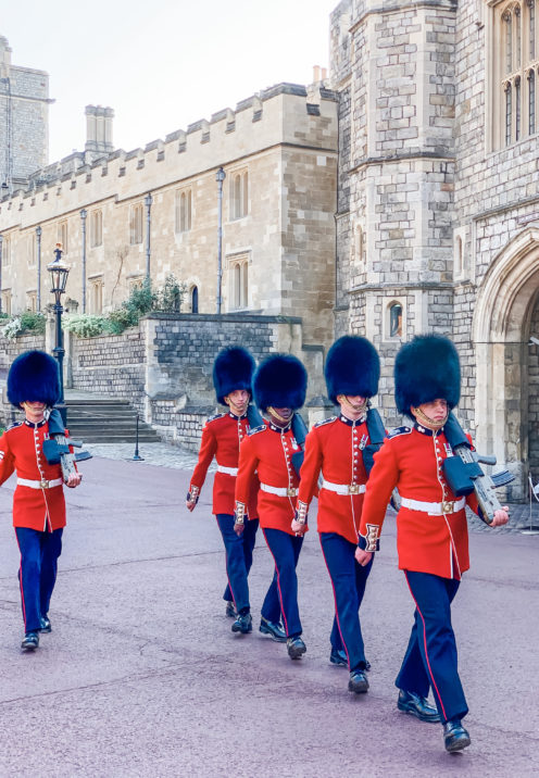 A VISIT TO ENCHANTING WINDSOR CASTLE | The Military Guard | www.AfterOrangeCounty.com