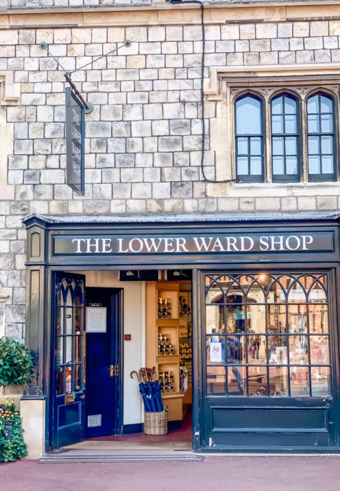 A VISIT TO ENCHANTING WINDSOR CASTLE | Lower Ward | The Lower Ward Shop | www.AfterOrangeCounty.com