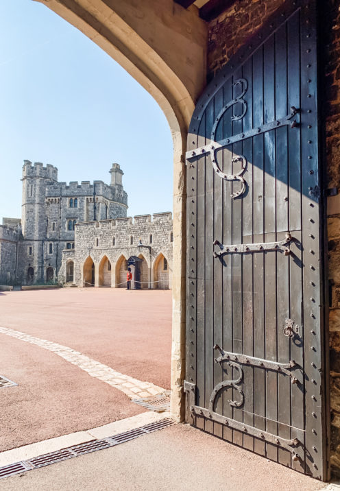 A VISIT TO ENCHANTING WINDSOR CASTLE | The Lower Ward | |www.AfterOrangeCounty.com