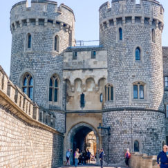A VISIT TO ENCHANTING WINDSOR CASTLE | The Norman Gate | www.AfterOrangeCounty.com