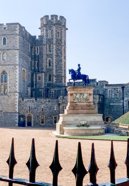 A VISIT TO ENCHANTING WINDSOR CASTLE | Upper Ward | www.AfterOrangeCounty.com