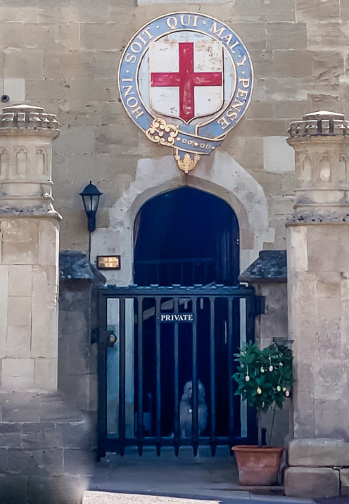 A VISIT TO ENCHANTING WINDSOR CASTLE | Lower Ward | The Lodgings of the Military Knights | www.AfterOrangeCounty.com