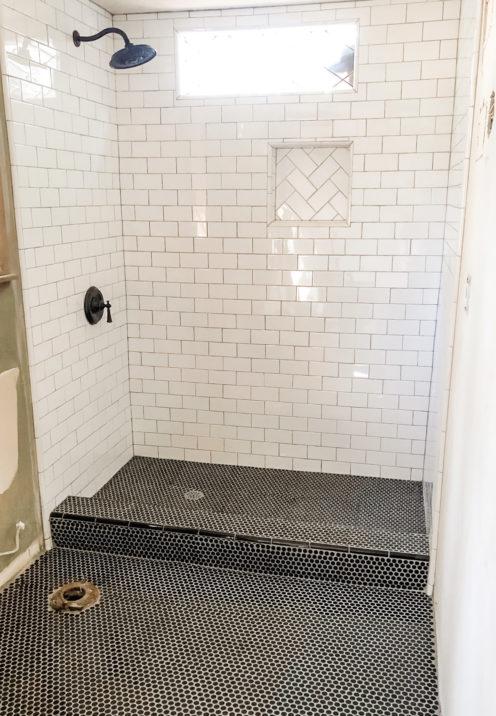 SUNDAYS WITH CELIA VOL 90 | DURING Renovation Bathroom Shower | www.AfterOrangeCounty.com