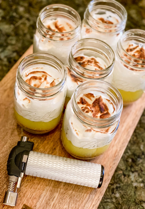 LEMON MERINGUE PIE IN A JAR | Recipe & Tutorial | www.AfterOrangeCounty.com