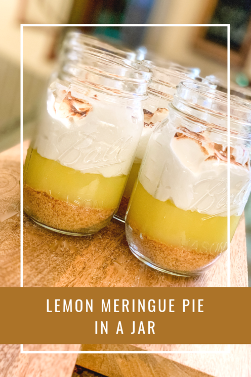 LEMON MERINGUE PIE IN A JAR | Recipe & Tutorial | www.AfterOrangeCounty.com