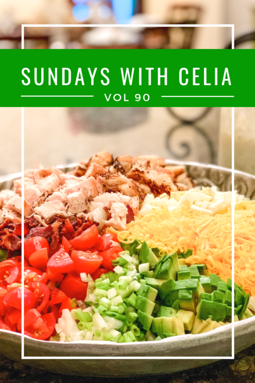 SUNDAYS WITH CELIA VOL 90 | Cobb Salad | www.AfterOrangeCounty.com