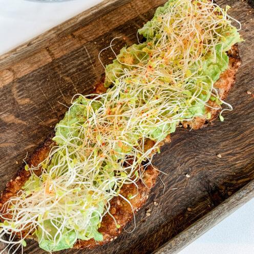 CHECKING INTO THE KIMPTON LA PEER HOTEL | Viale dei Romani Trattoria | Avocado Toast with lemon & sprouts | www.AfterOrangeCounty.com