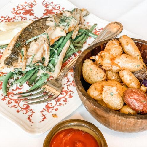 CHECKING INTO THE KIMPTON LA PEER HOTEL | Viale dei Romani Trattoria | Crispy Potatoes with Rosemary & Garlic | www.AfterOrangeCounty.com