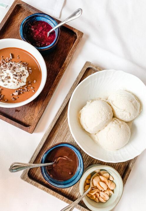 CHECKING INTO THE KIMPTON LA PEER HOTEL | Viale dei Romani Trattoria | Chocolate Pot de Creme & Vanilla Gelati | www.AfterOrangeCounty.com