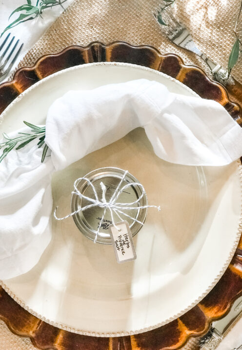 AN EASY THANKSGIVING TABLESCAPE TO IMPRESS   www.AfterOrangeCounty.com
