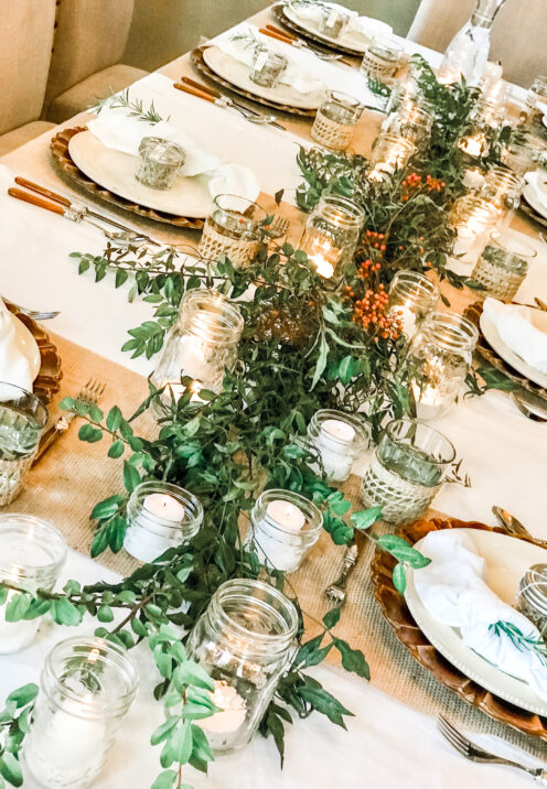 AN EASY THANKSGIVING TABLESCAPE TO IMPRESS | www.AfterOrangeCounty.com