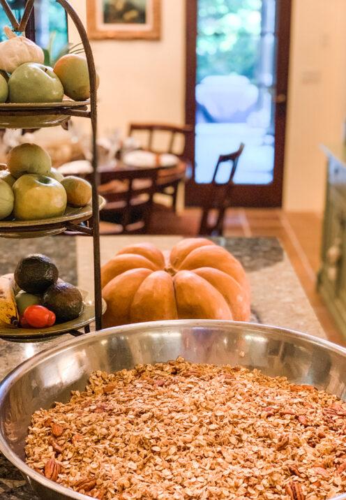 SUNDAYS WITH CELIA VOL 96 | The Very Best Homemade Granola Recipe | www.AfterOrangeCounty.com #GranolaRecipe