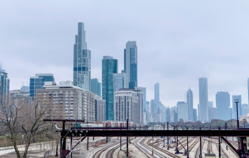 A WINTER WALK IN CHICAGO | Chicago Skyline | www.AfterOrangeCounty.com